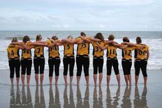 Softball World Series beach photos