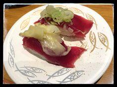 Sushi time...katsuo! #tokyo #sushi