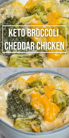 Keto Broccoli Cheddar Chicken (One Pan Recipe) Easy Keto Broccoli Cheddar Chicken! When you need some low carb comfort food try this Keto Broccoli Cheddar Chicken! A one pan, low carb dinner under 7 net carbs per serving. Quick Easy Meals, Healthy Dinner Recipes, Diet Recipes, Gluten Free Dinners Easy, Easy Diabetic Recipes, Easy Recipes For Two, Easy Low Carb Recipes, Healthy Low Calorie Dinner, Easy Diabetic Meals