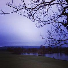 Selbourne at dusk.
