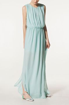 Love the Duck-Egg-Blue Colour, and Grecian Style!