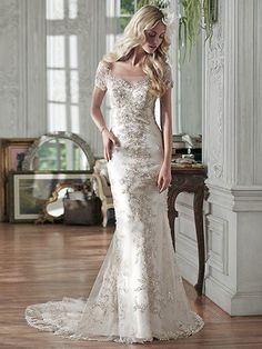 Riviera Wedding Dress by Maggie Sottero   front