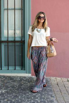 Indian Summer Palazzo Pants | White Plum | Closet | Pinterest ...