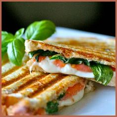 Caprese Panini - Powered by @ultimaterecipe