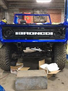 Custom 1975 Ford Bronco Grill by Jaw Droppin Customs in Corpus Christi, Tx