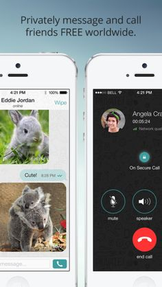 Wiper: A new messenger app for free private texting and calling worldwide.
