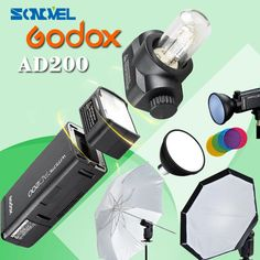 374.00$  Watch now - GODOX AD200 kit Photography suit include GODOX AD-S2+AD-S11+AD-S7 GODOX AD-S5+GODOX XIT for CANON for NIKON for SONY  #magazineonlinewebsite