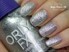 Orly - Silver Pixel Silver Nail Polish, Silver Nails, My Style, Blog, Beauty, Silver Nail, Blogging, Beauty Illustration