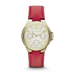 89721ce3f Michael Kors Watch - MK2321 Fashion Bags, Love Fashion, Shops, Red Leather,