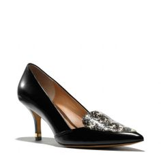 The Zayley Heel // oh my!! want these please!!! #Coach