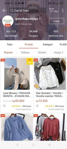 Best Online Clothing Stores, Online Shopping Clothes, Hijab Fashion, Korean Fashion, Fashion Outfits, Star 8, Online Shop Baju, Aesthetic Shop, Mode Abaya