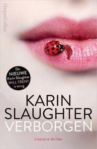 43/52 Verborgen/Karin Slaughter Ik weet het niet, meestal lees ik 'Slaughters' zo uit maar hier kwam ik bijna niet doorheen....