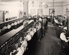 I was a cordboard operator in 1968.... not quite like this but how cool to go back this far in time in telephony...Telephone Switchboard Operators   1905-1945