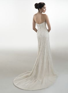 Donna - by Maggie Sottero  Add Sparkly straps?