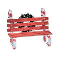 Department 56 Village Candy Cane Bench Department accessory - Own it AB