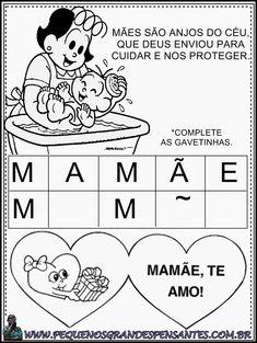 Atividade Para o Dia Das Mães - Educação Infantil