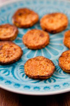 Pikante Süßkartoffelräder aus dem Ofen - www.kuechenchaotin.de