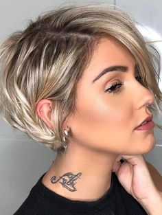 23 Best Short Pixie Haircut For Stylish . - 23 Best Short Pixie Haircut For Stylish … – – Source by - Pixie Haircut For Thick Hair, Short Hairstyles For Thick Hair, Haircuts For Fine Hair, Short Cuts, Curly Short, Short Hair Cuts For Women With Round Faces, Short Hair For Women, Women Pixie Haircut, Pixie Cut Round Face