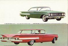 1960 Chevrolet Impala 2 and 4 door Hardtop