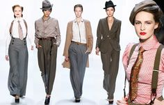 Trend, Herbst-Winter, Fashion Week: Boyfriend-Style - Modetrends Fashion Week Herbst/Winter 2010/2011