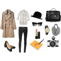 Outfit Inspiration: Spy Girl.