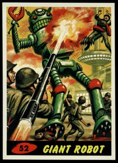 Mars Attacks : Directed by Tim Burton inspired by the Topps trading cards illustrated by Wally Wood . Mars Attacks, Science Fiction Art, Pulp Fiction, Tim Burton, Norman, Sci Fi Horror, Horror Movies, Pulp Art, Retro Futurism