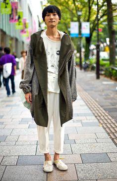 Sato Ryota, Tokyo   Street Fashion   Street Peeper   Global Street Fashion and Street Style his coat