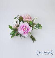 Silk Bouquet - Artificial Bouquet, Wedding Bouquet, Peony Bouquet, Boho Bouquet…