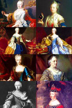 History meme >> nine kings/queens - Maria Theresa of Austria [7/9]