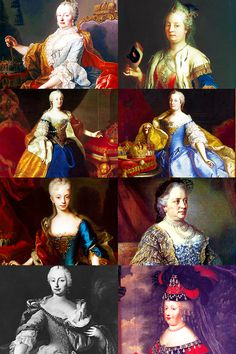 History meme >> nine kings/queens - Maria Theresa of Austria [7/9]