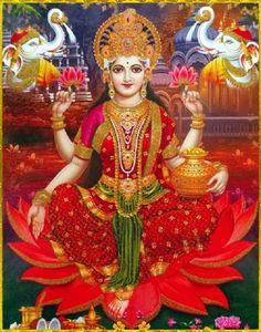 Short videos, playlists of mantra, aarti, chalisa and bhajans on Hindu Gods and Goddesses. Indian Goddess, Goddess Art, Goddess Lakshmi, Lakshmi Photos, Lakshmi Images, Krishna Images, Durga Kali, Shiva Shakti, Shiva Hindu