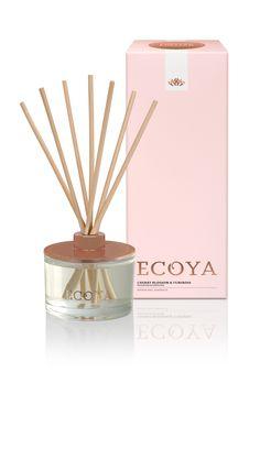 ECOYA Limited Edition - Cherry Blossom & Tuberose  www.ecoya.com