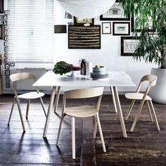 Pila ashwood stackable chair by Magis - ARREDACLICK