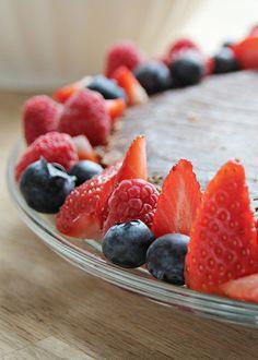mariefriis: Fryst sjokoladekake