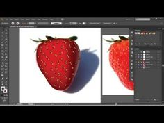 Easy way to convert your photograph into a vector object using the mesh tool. Here is a link to JPEG image I used in this video https://drive.google.com/file...