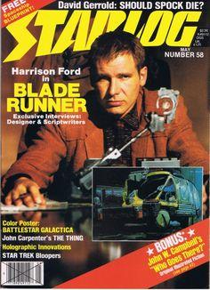 Starlog Magazine Issue 058 - Blade Runner issue