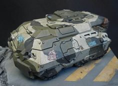 Taurus APC was painted by Dwartist from from DWARTIST'S PAINTING BLOG. http://dwartist.blogspot.co.uk/ https://puppetswar.eu/product.php?id_product=269