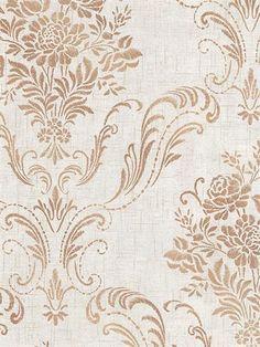 Fog Manor Floral Damask Wallpaper