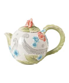 Look what I found on #zulily! Paisley Park Teapot by Fitz and Floyd #zulilyfinds
