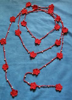 Crochet Box Stitch, Crochet Collar, Knit Crochet, Macrame Jewelry, Crochet Projects, Diy And Crafts, Crochet Earrings, Crochet Patterns, Bling