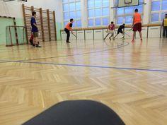 School gym. #Florball #morning I'd like sleep!