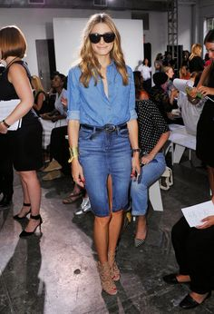 The Olivia Palermo Lookbook : New York Fashion Week Spring 2015 : Olivia Palermo At Noonoo