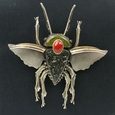 Flying Bug Pin by artist Jim Dunakin - TALICH Boutique