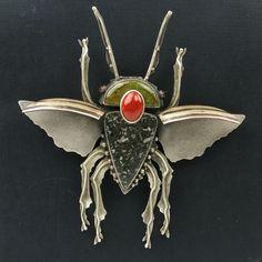 Flying Bug Pin by artist Jim Dunakin - TALICH Boutique