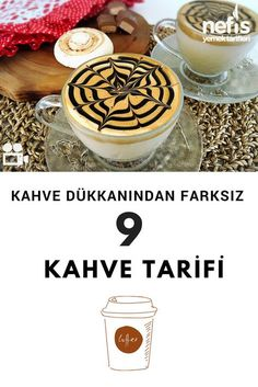 Coffee Recipes 9 Recipes to Turn Your Home into a Coffee Shop - Delicious Recipes - Whether starting the day, to relieve the tiredness of the day or after meals! We can turn coffee in - Yummy Recipes, Yummy Food, Turkish Recipes, Ethnic Recipes, Different Coffees, Recipe Mix, Coffee And Books, Frappe, Chocolate Coffee