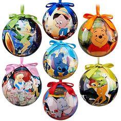 Amazon.com: World of Disney Ornament Set -- 7-Pc.Set-- 2011 Disney Item No. 6434046651954P: Everything Else