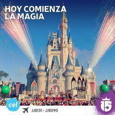 Hoy comienza la magia para el grupo #celesteF16!!!   A cumplir sueños con #enjoy15!