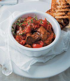 Recipe: Peri-peri tomato chicken livers with ciabatta toasts