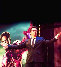 Everyone says this but seriously, he's Tony Stark. #TheAvengers #RobertDowneyJR