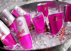 red bull Oh, how miss you! Red Bull Drinks, Pink Drinks, Pink Vodka, Ps I Love, Everything Pink, Pink Aesthetic, Energy Drinks, Pink Roses, Pretty In Pink